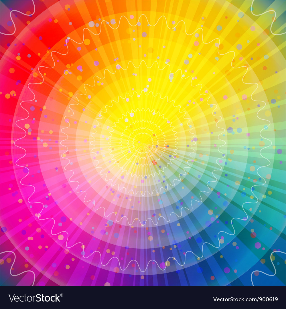 Background abstract rainbow vector | Price: 1 Credit (USD $1)