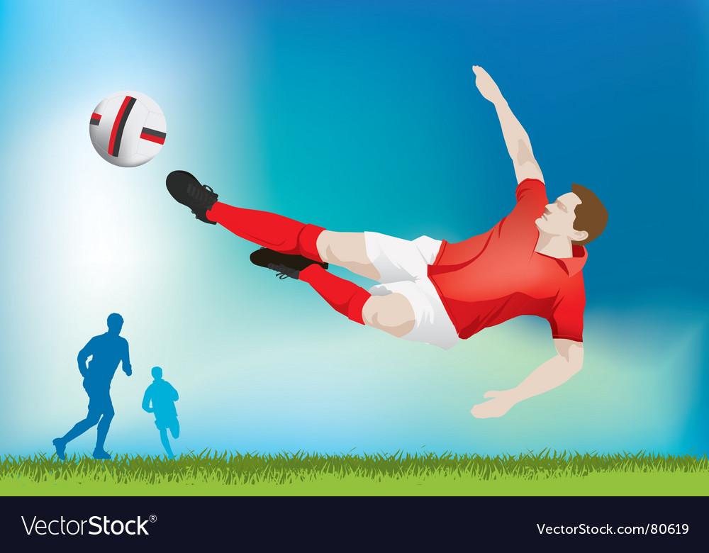 Football strike vector   Price: 1 Credit (USD $1)