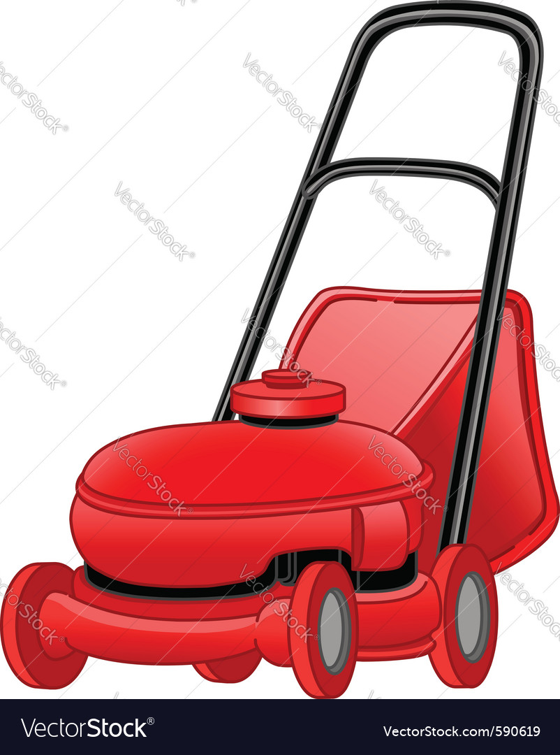 Lawn mower vector | Price: 3 Credit (USD $3)