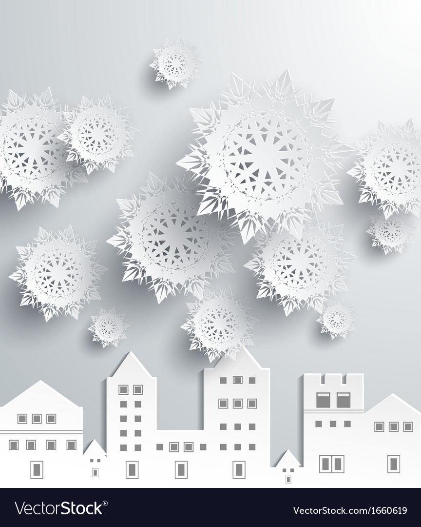 Paper snowflakes vector | Price: 1 Credit (USD $1)