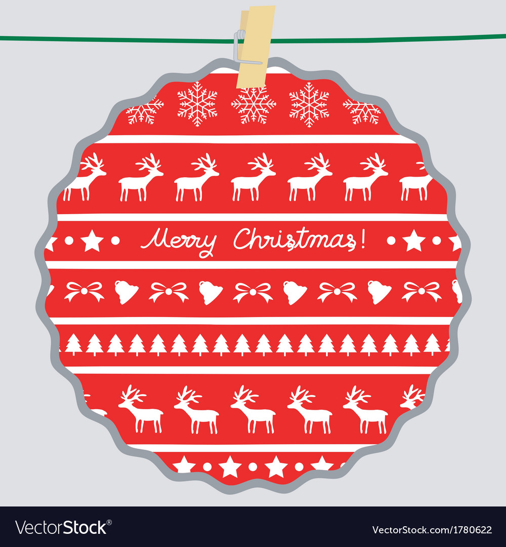 Christmas greeting card65 vector | Price: 1 Credit (USD $1)