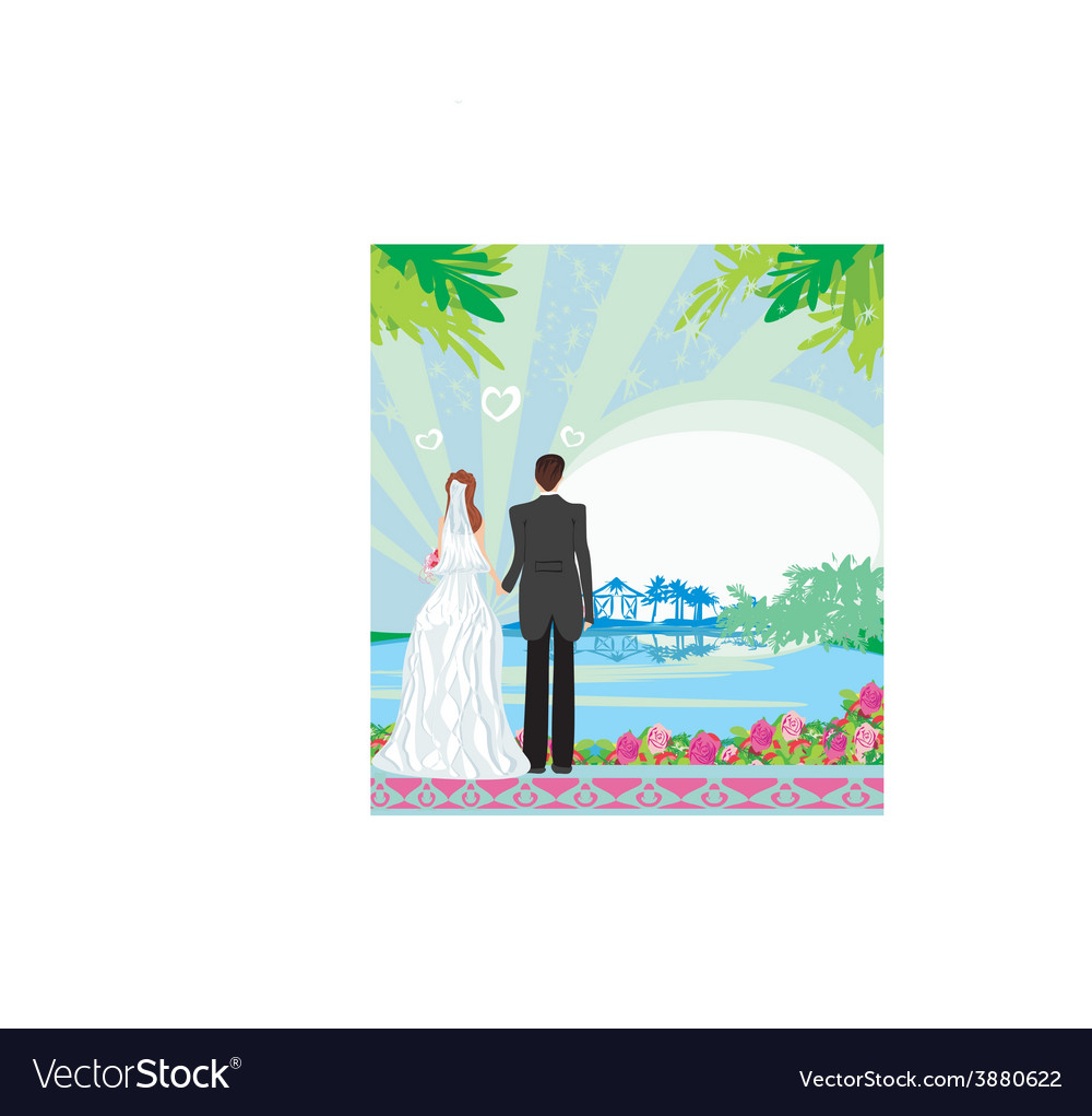 Honeymoon in the tropics vector | Price: 1 Credit (USD $1)