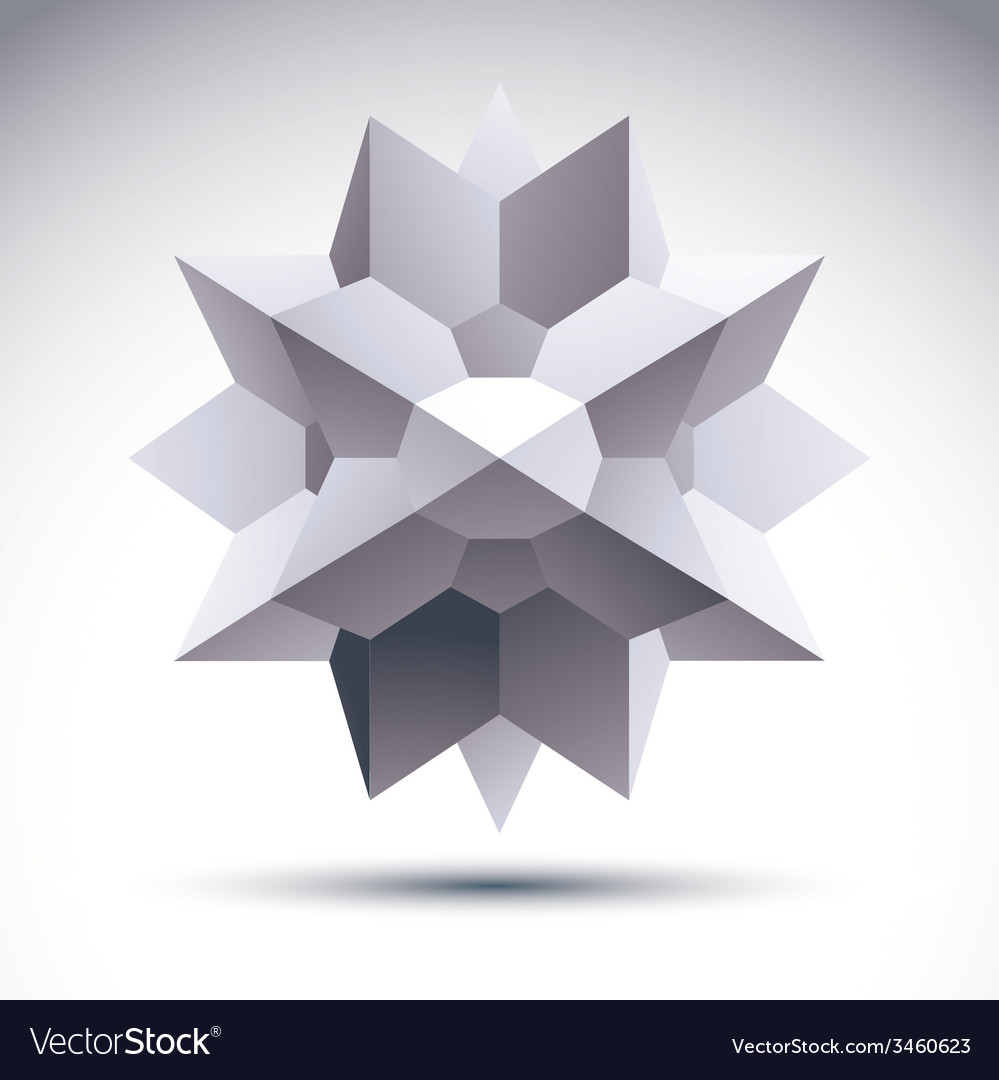 Abstract 3d object clear eps 8 vector | Price: 1 Credit (USD $1)