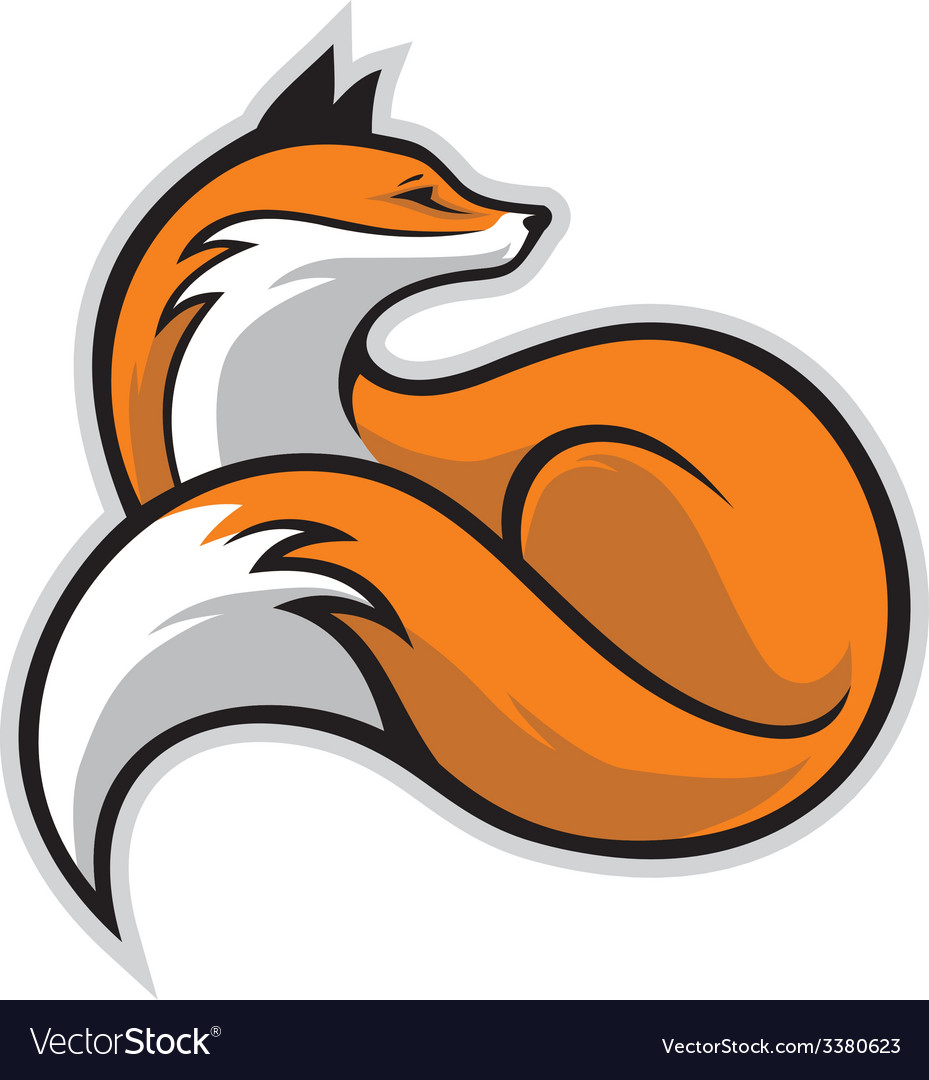 Simple fox vector | Price: 3 Credit (USD $3)