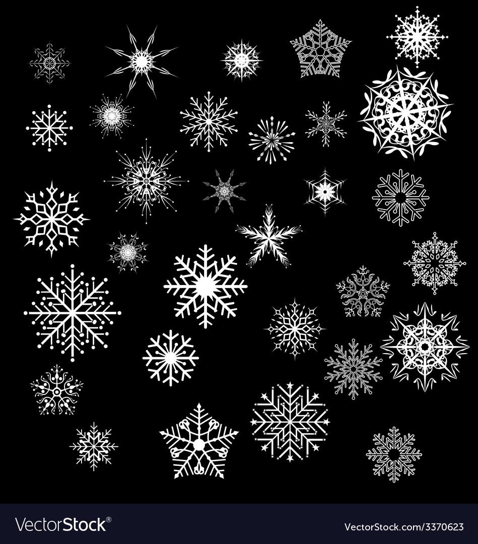 Snowfake vector | Price: 1 Credit (USD $1)