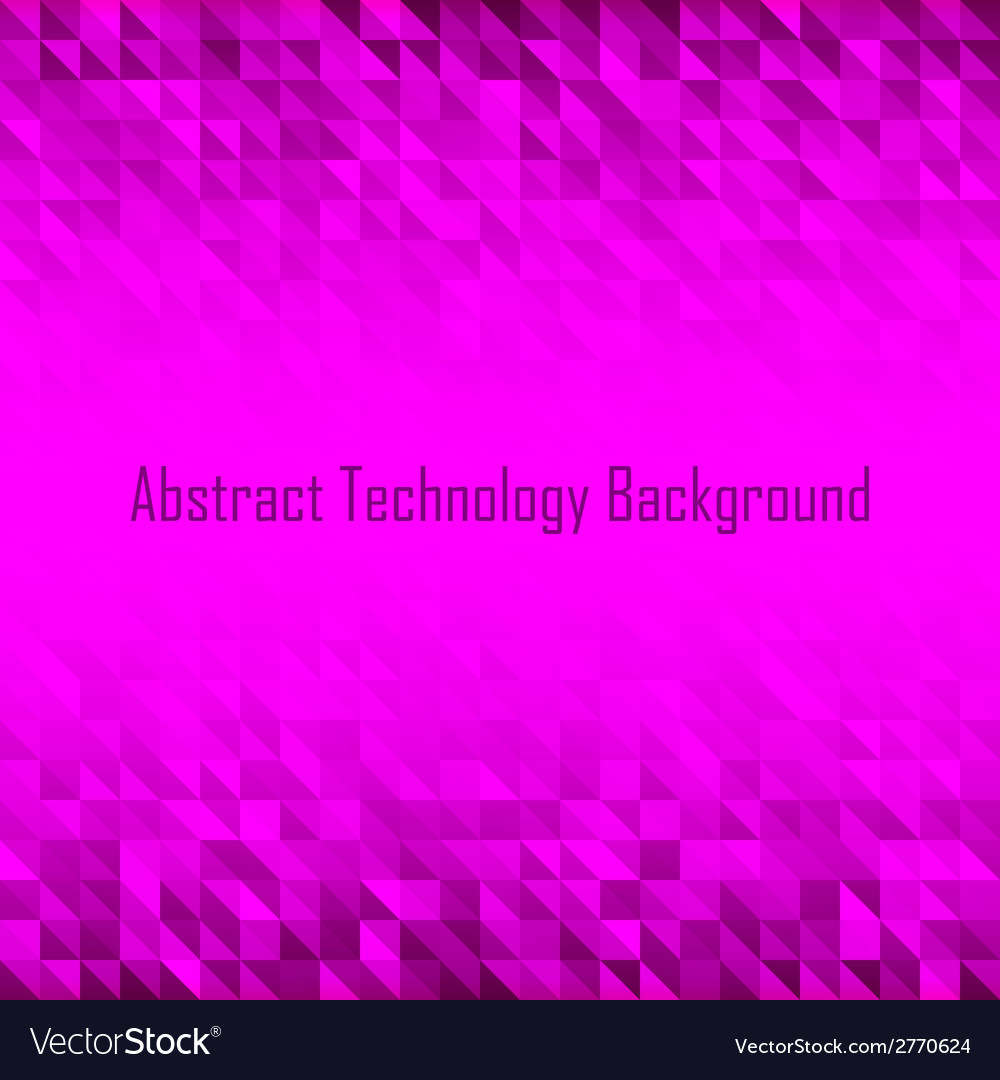 Abstract violet geometric technology background vector | Price: 1 Credit (USD $1)
