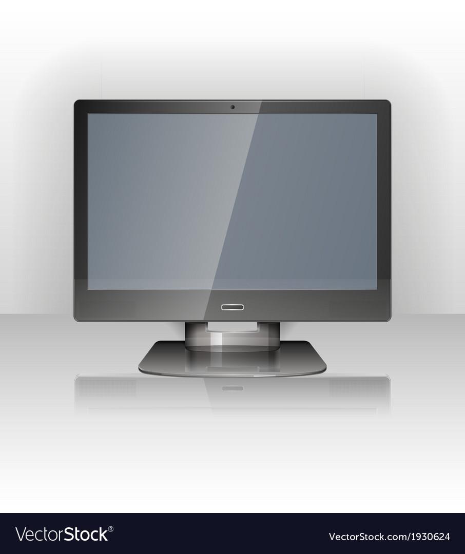 Lcd display vector | Price: 1 Credit (USD $1)