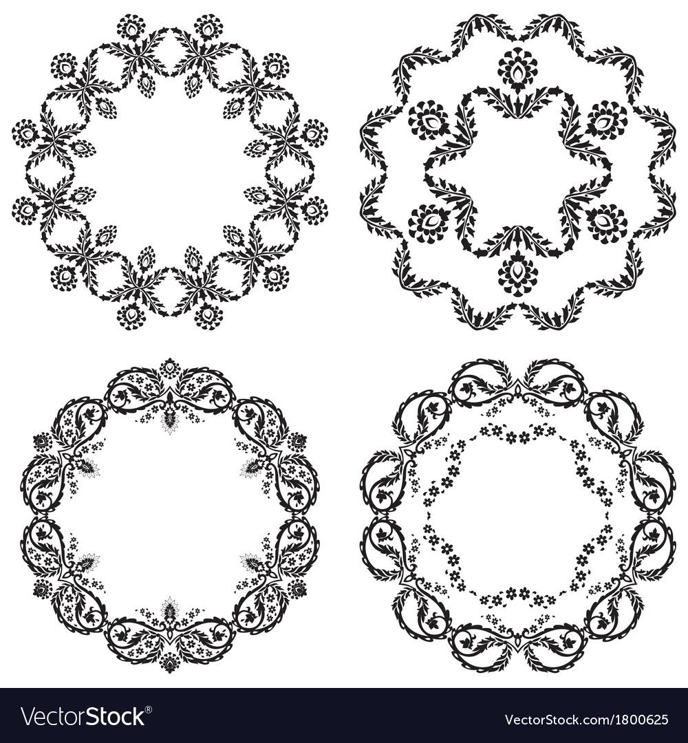 Black and white version design element vector | Price: 1 Credit (USD $1)