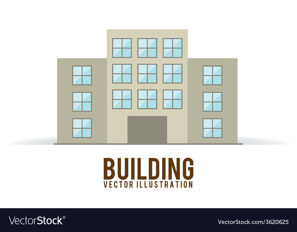 Building design vector | Price: 1 Credit (USD $1)