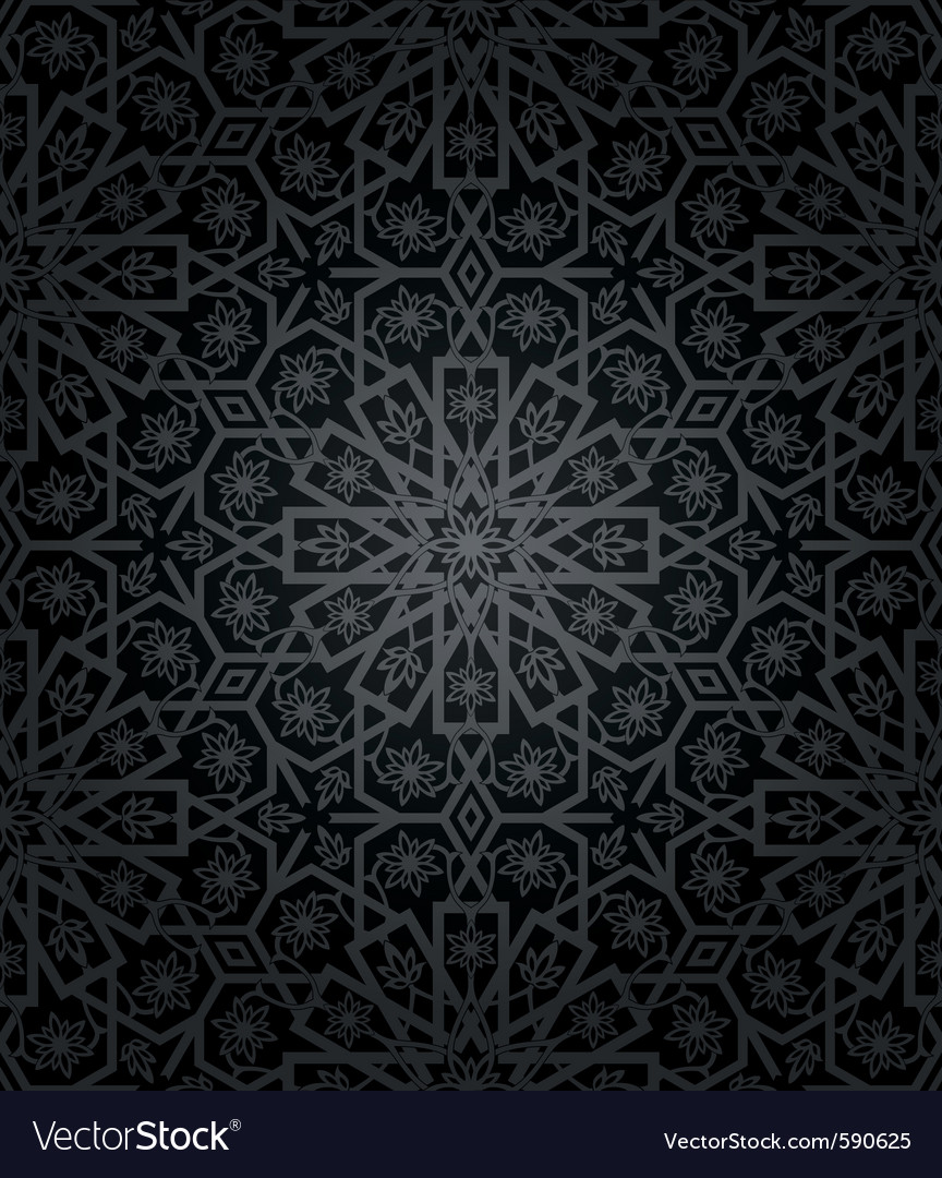 Decorative seamless pattern vector | Price: 1 Credit (USD $1)
