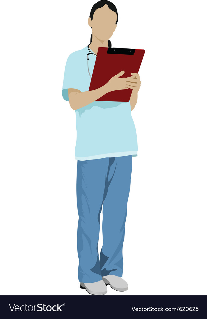 Nurse vector | Price: 1 Credit (USD $1)