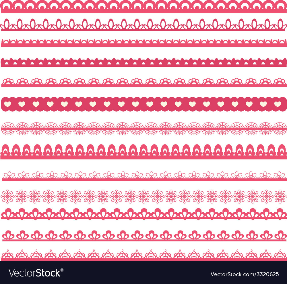 Set of laces vector | Price: 1 Credit (USD $1)