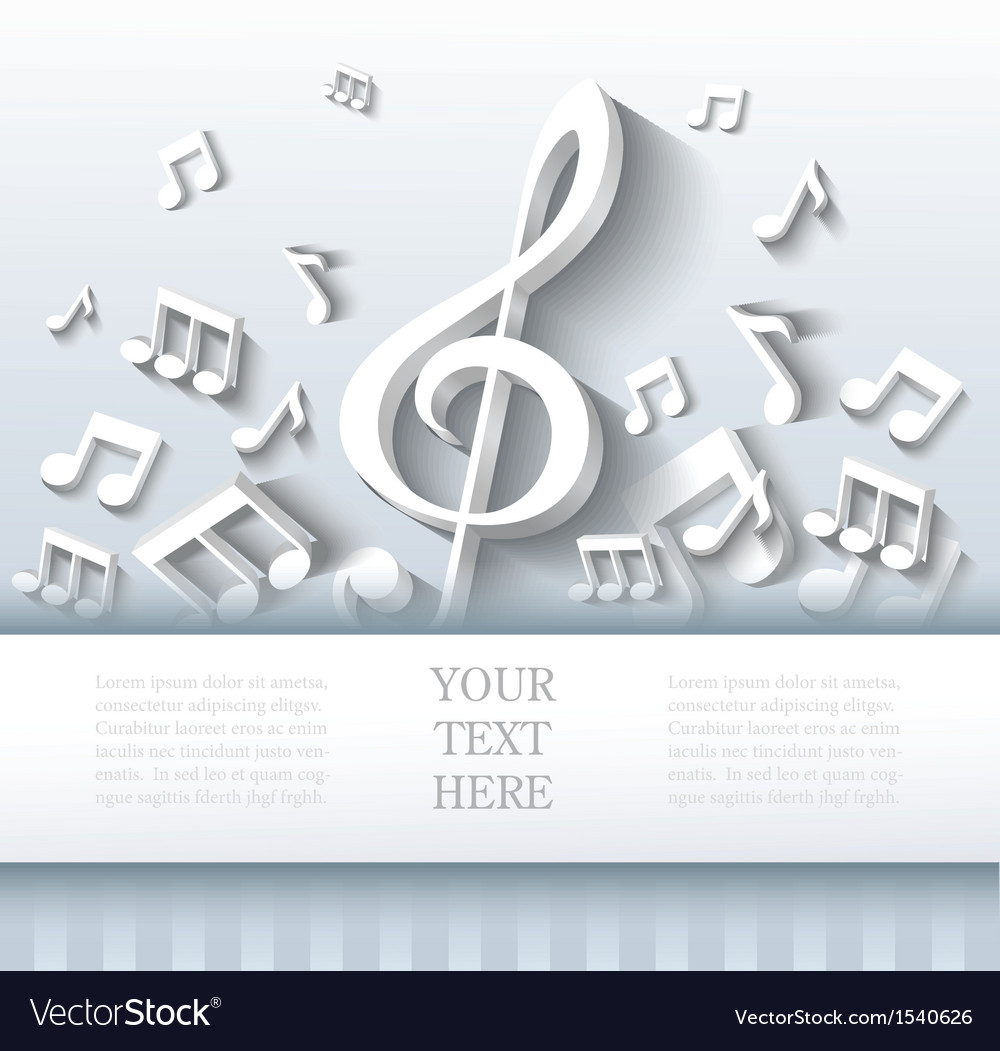 Abstract music background vector   Price: 1 Credit (USD $1)