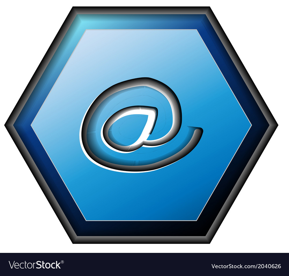 E-mail contact button vector | Price: 1 Credit (USD $1)
