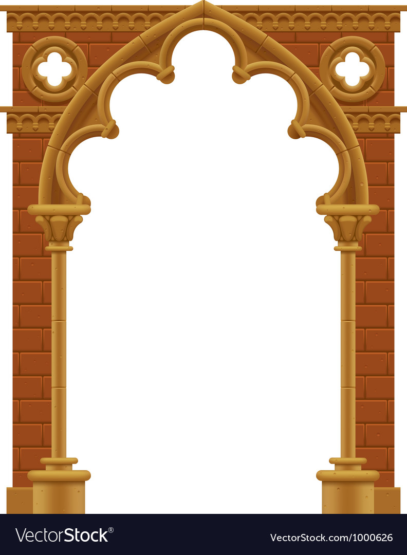 Gothic arch vector | Price: 3 Credit (USD $3)