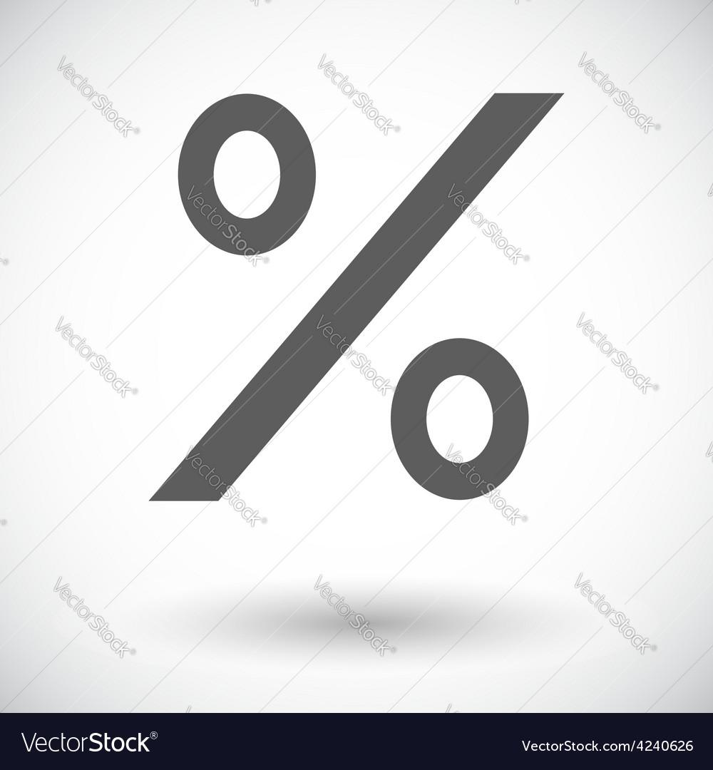 Icon percent sign 2 vector   Price: 1 Credit (USD $1)