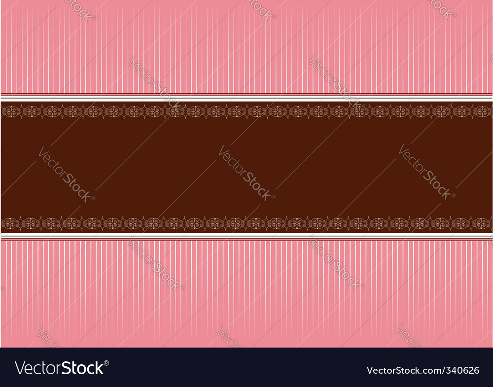 Pink brown vector | Price: 1 Credit (USD $1)