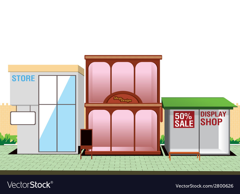 Shop store vector | Price: 1 Credit (USD $1)