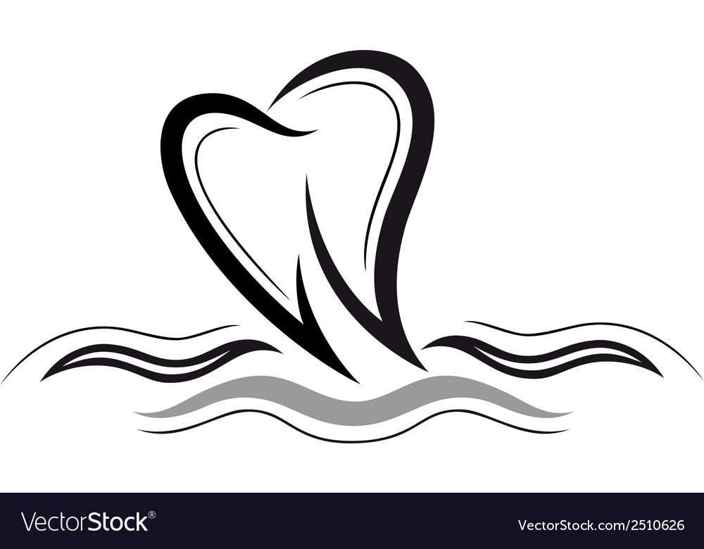 Tooth health vector | Price: 1 Credit (USD $1)
