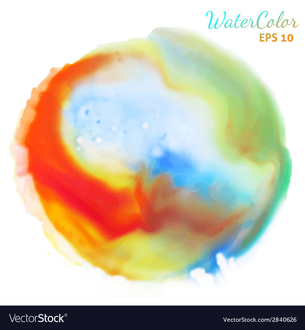 Watercolor background for textures vector | Price: 1 Credit (USD $1)