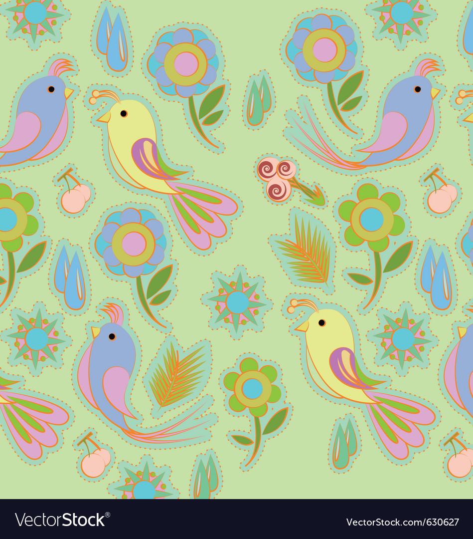 Background bird vector | Price: 1 Credit (USD $1)