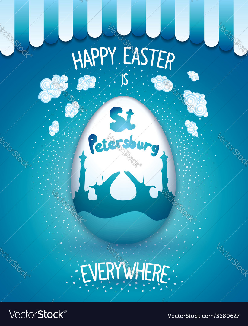 Holiday easter everywhere vector | Price: 1 Credit (USD $1)