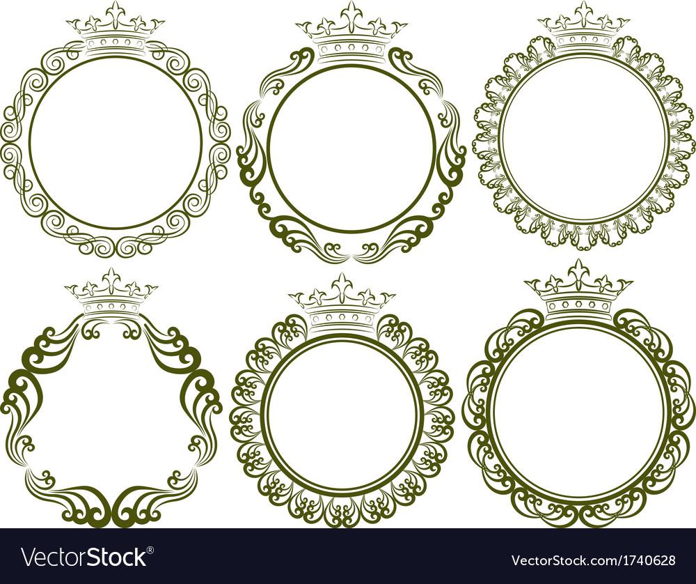 Royal frames vector | Price: 1 Credit (USD $1)