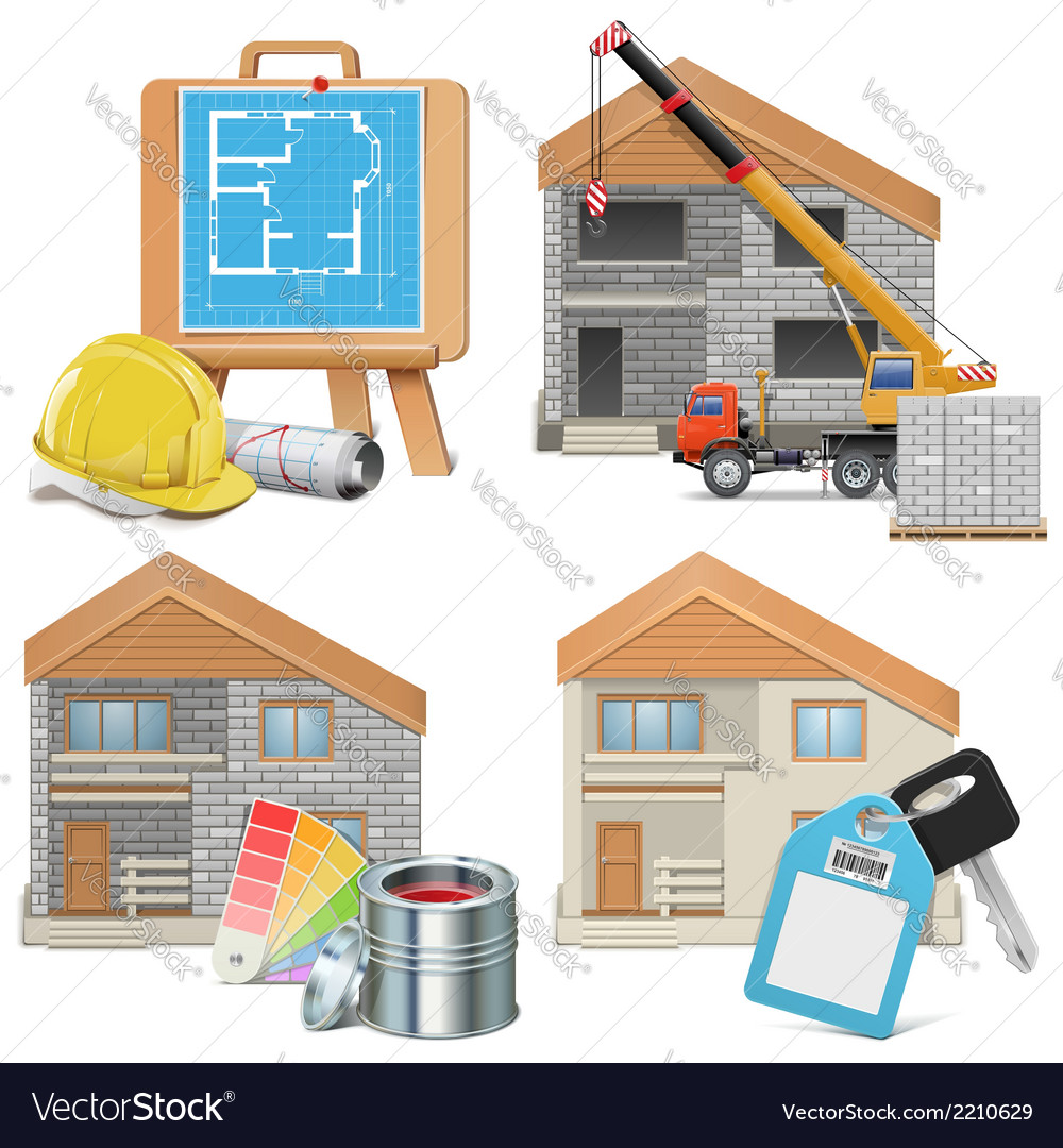 Homebuilding concept vector | Price: 3 Credit (USD $3)