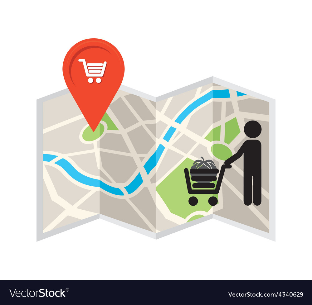 Market location vector | Price: 1 Credit (USD $1)