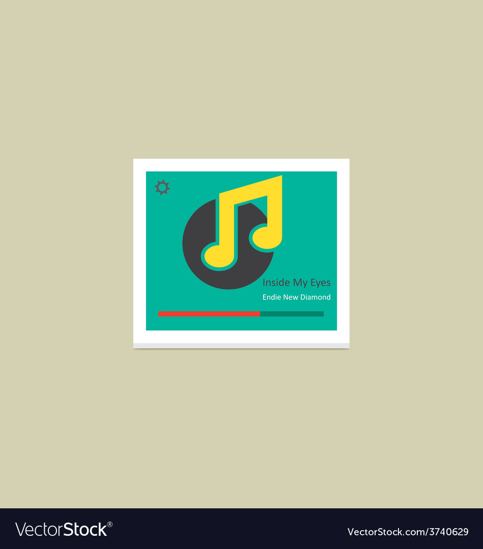Music player 38 vector | Price: 1 Credit (USD $1)