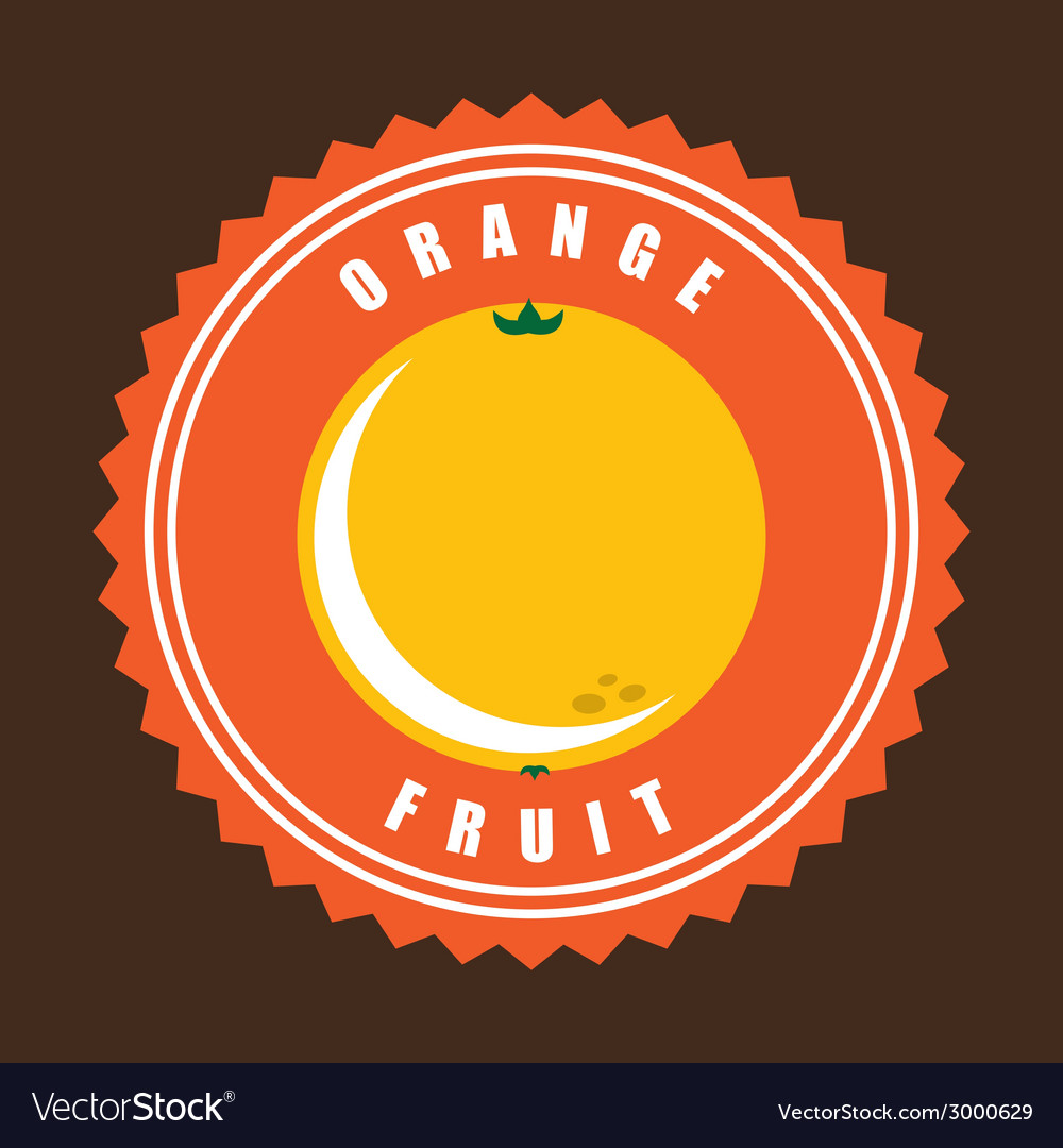 Orange design vector | Price: 1 Credit (USD $1)