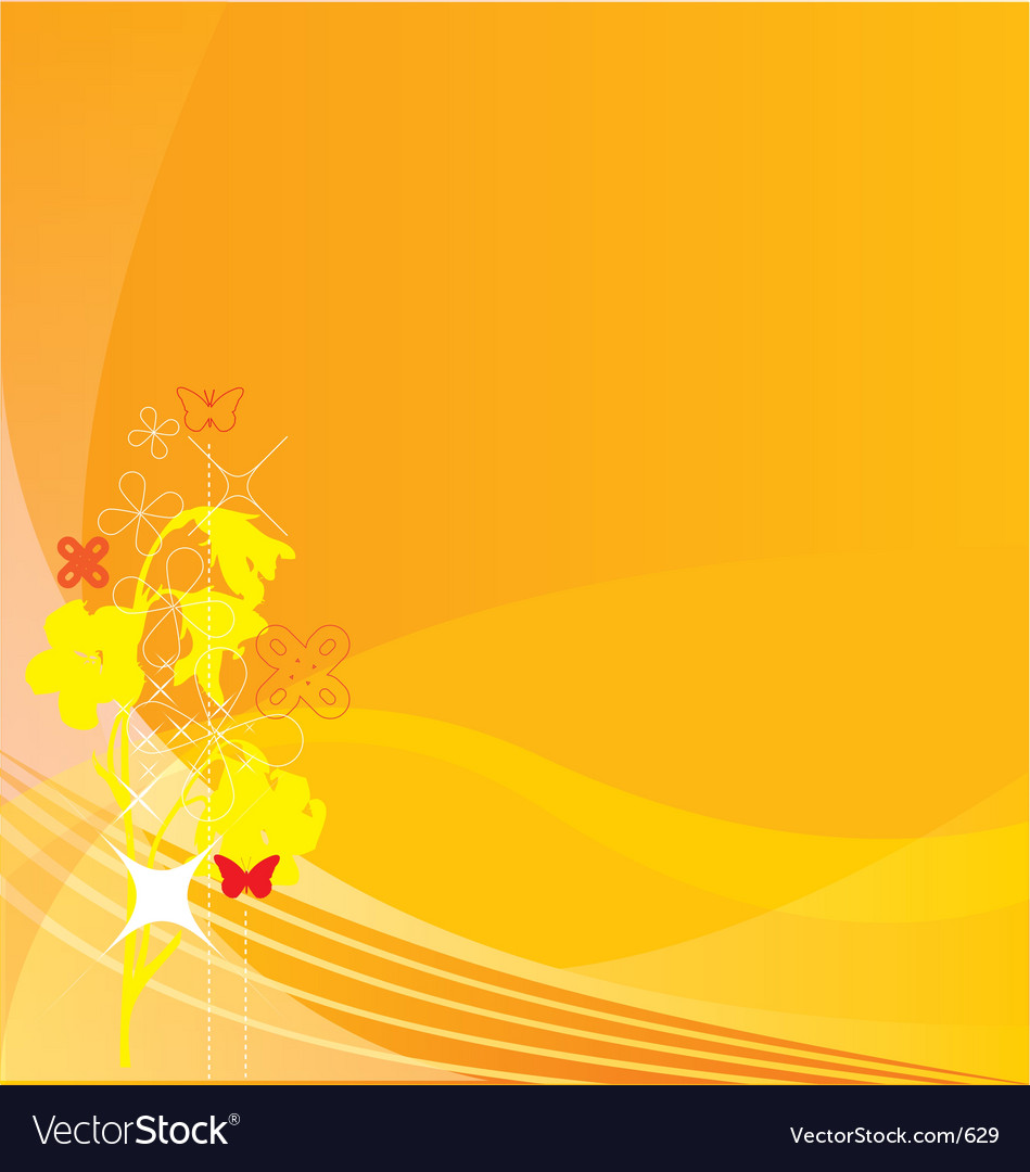 Summer glow background vector | Price: 1 Credit (USD $1)