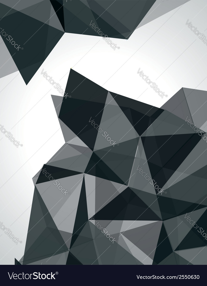 Abstract geometric 3d background vector | Price: 1 Credit (USD $1)