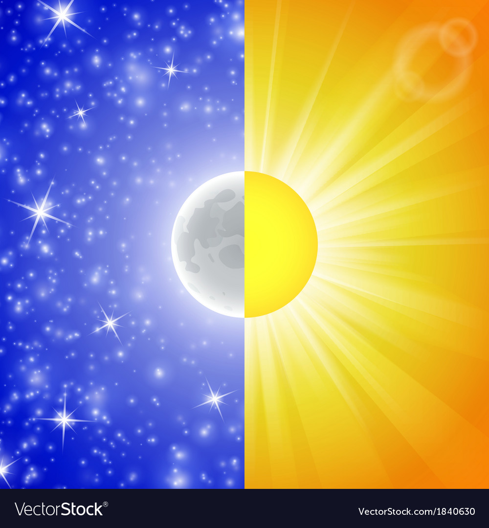 Day and night vector | Price: 1 Credit (USD $1)