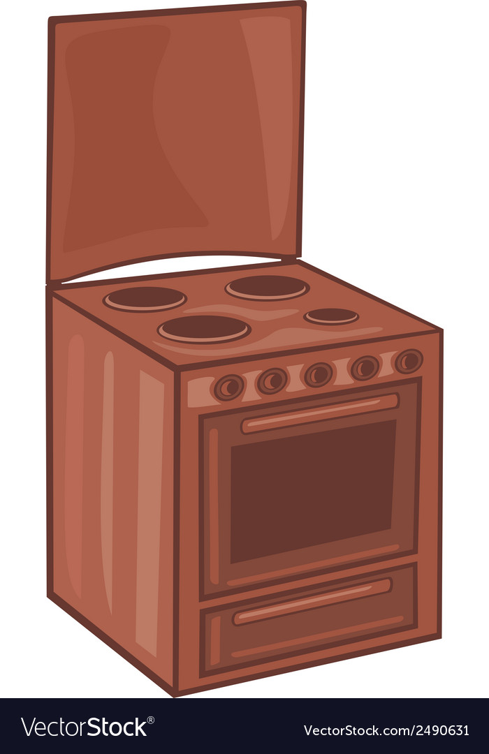 Electric cooker vector | Price: 1 Credit (USD $1)