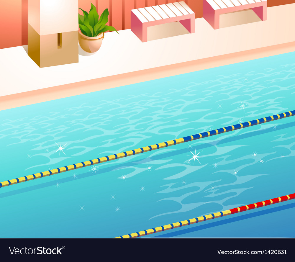 Swimming pool lanes vector | Price: 1 Credit (USD $1)