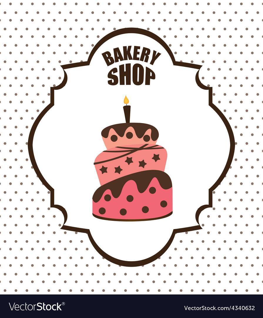 Bakery shop vector | Price: 1 Credit (USD $1)