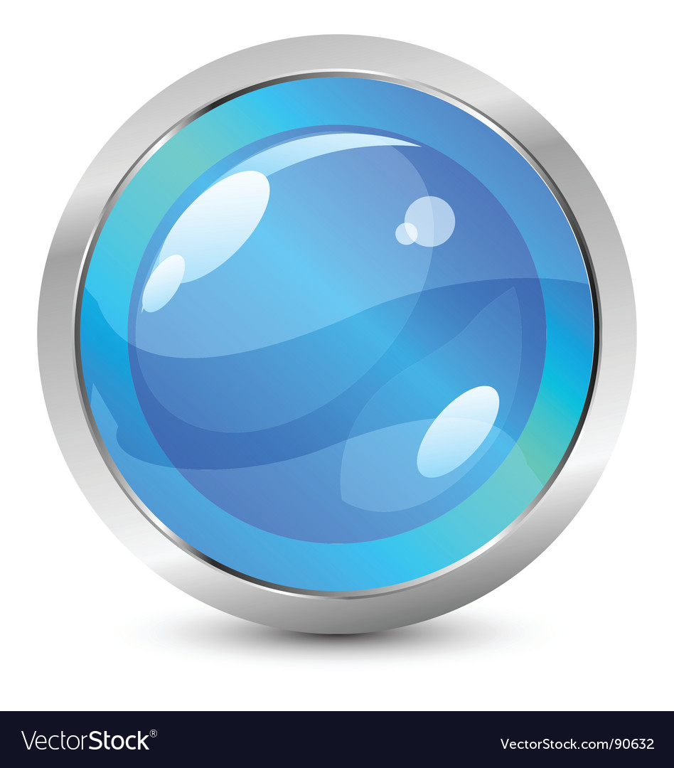 Glassy icon vector | Price: 1 Credit (USD $1)