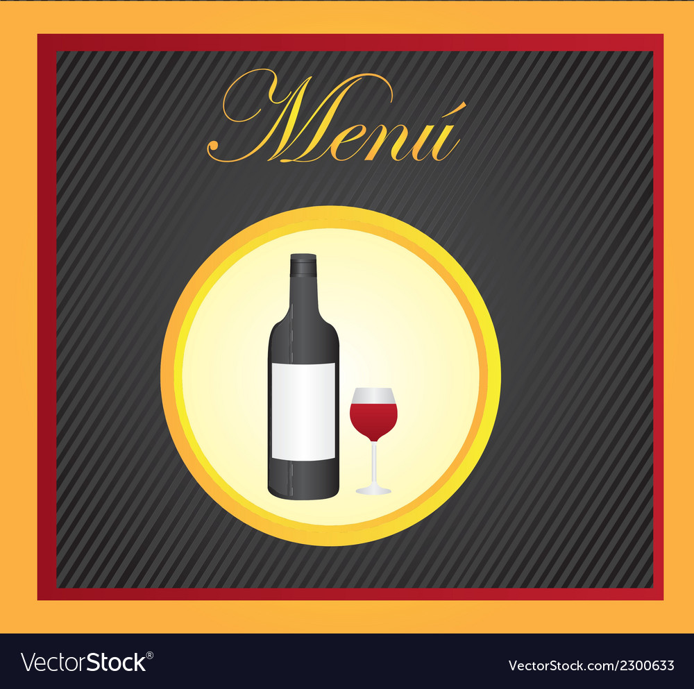 Carte restaurant desing vector | Price: 1 Credit (USD $1)