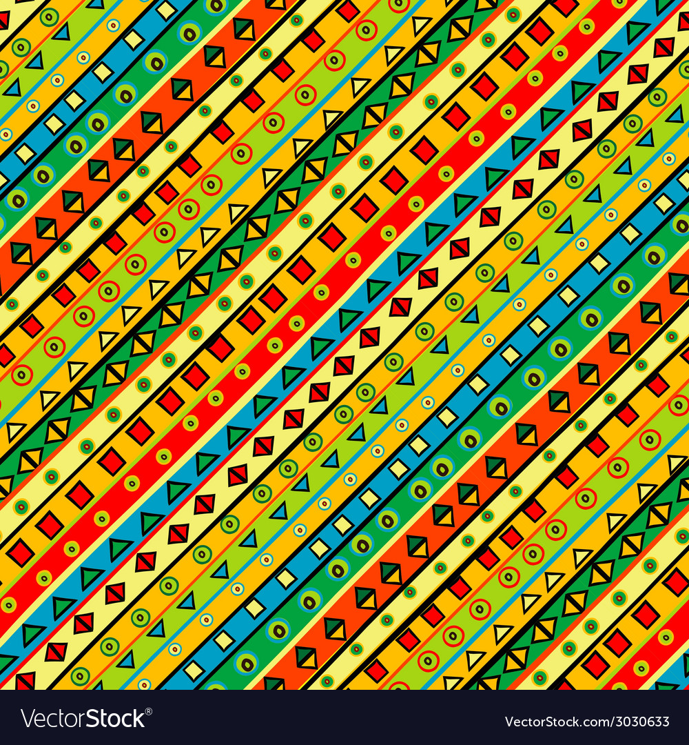 Colorful background with geometrical shapes vector | Price: 1 Credit (USD $1)