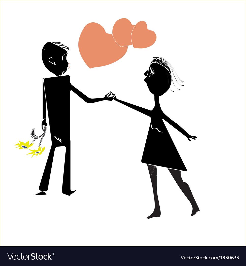 Couple n love vector | Price: 1 Credit (USD $1)