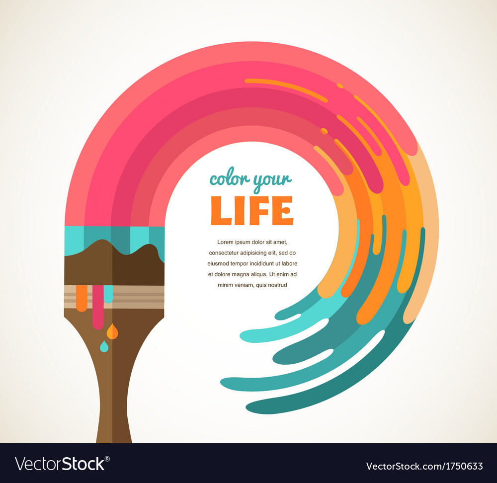 Design creative idea and color concept vector | Price: 1 Credit (USD $1)