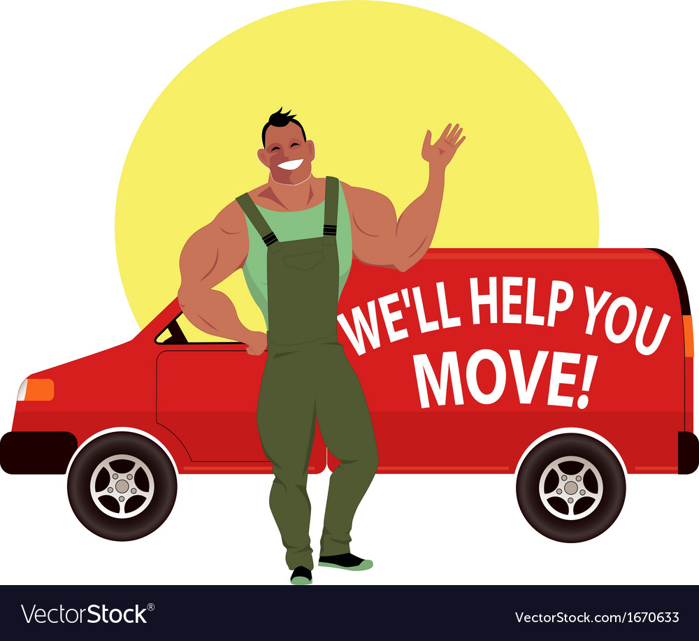 Professional mover vector | Price: 1 Credit (USD $1)
