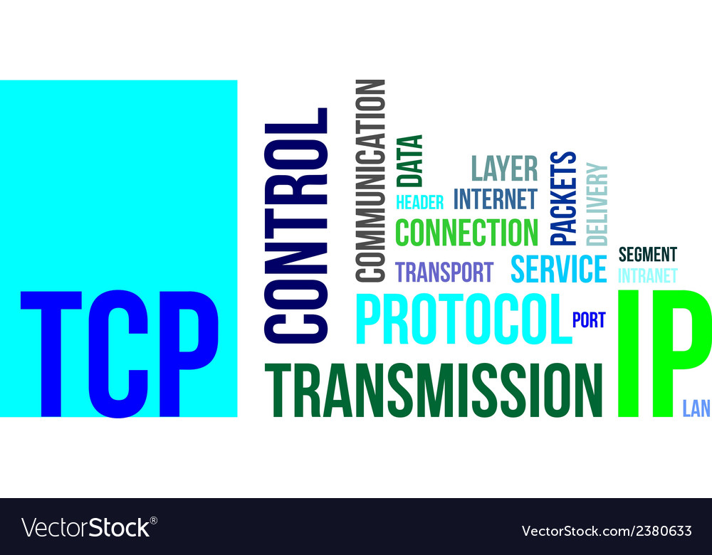 Word cloud tcp vector | Price: 1 Credit (USD $1)
