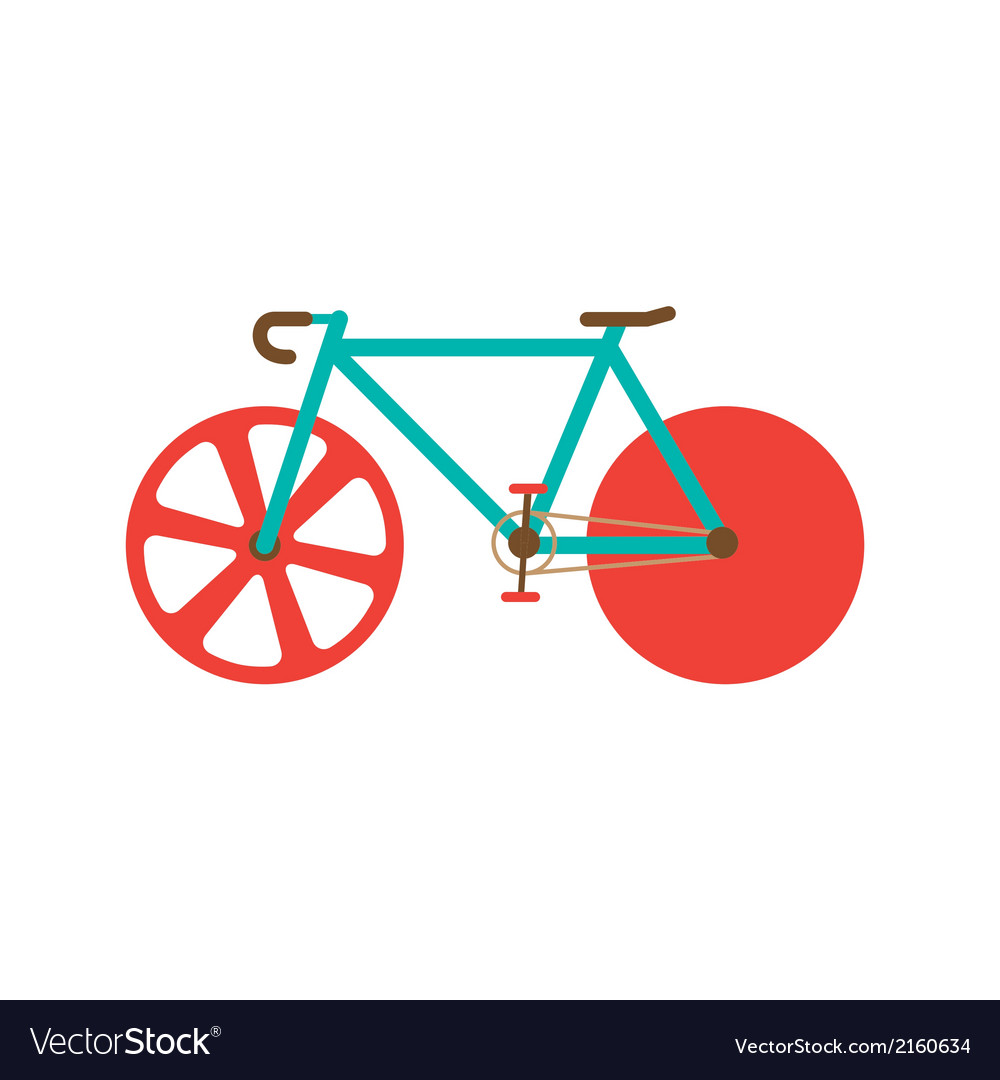 Road bike vector | Price: 1 Credit (USD $1)