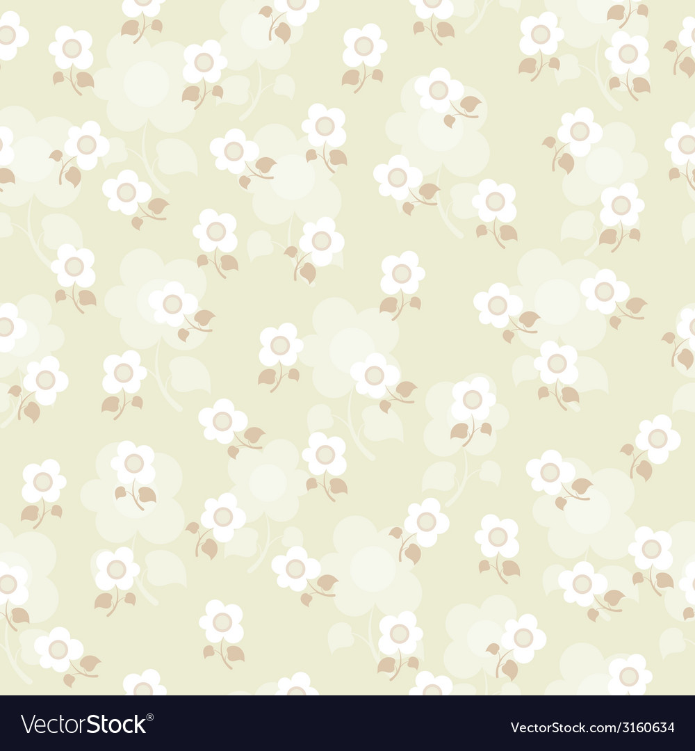 Texture with flowers vector | Price: 1 Credit (USD $1)
