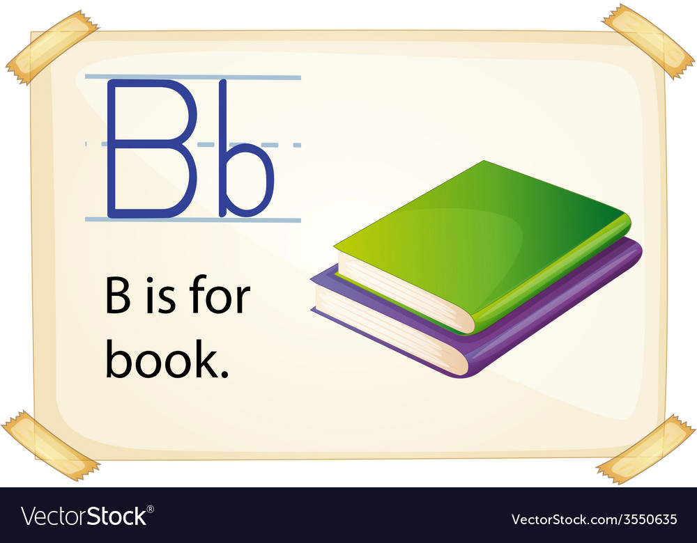 Alphabet b vector | Price: 1 Credit (USD $1)