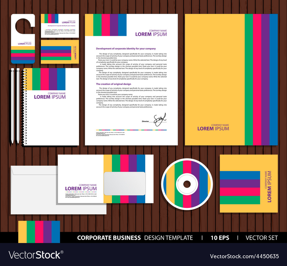 Company style vector | Price: 1 Credit (USD $1)