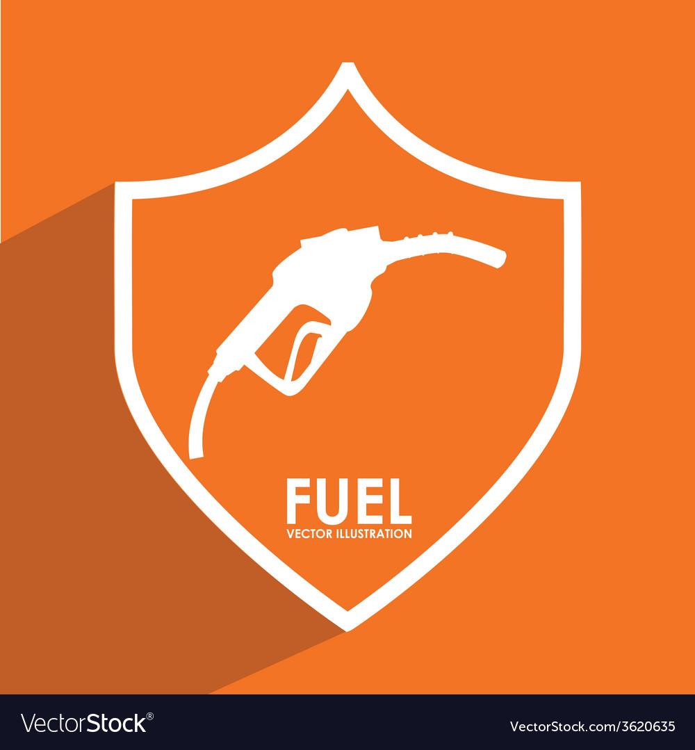 Fuel signal vector | Price: 1 Credit (USD $1)