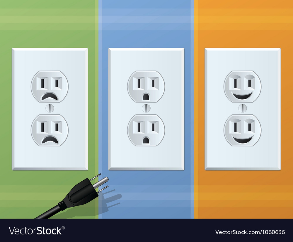 Receptacle vector | Price: 1 Credit (USD $1)